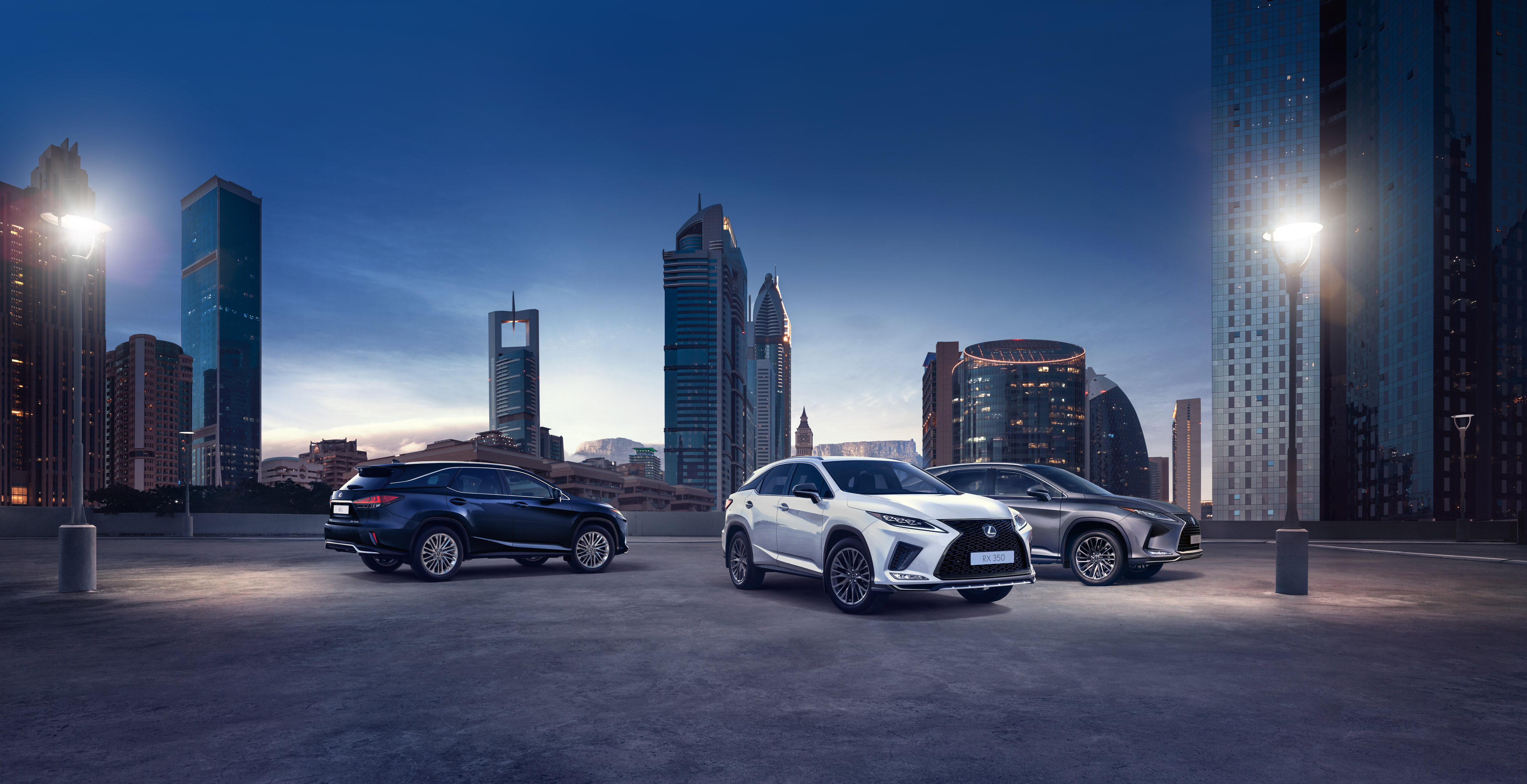 lexus rx and rx l hero