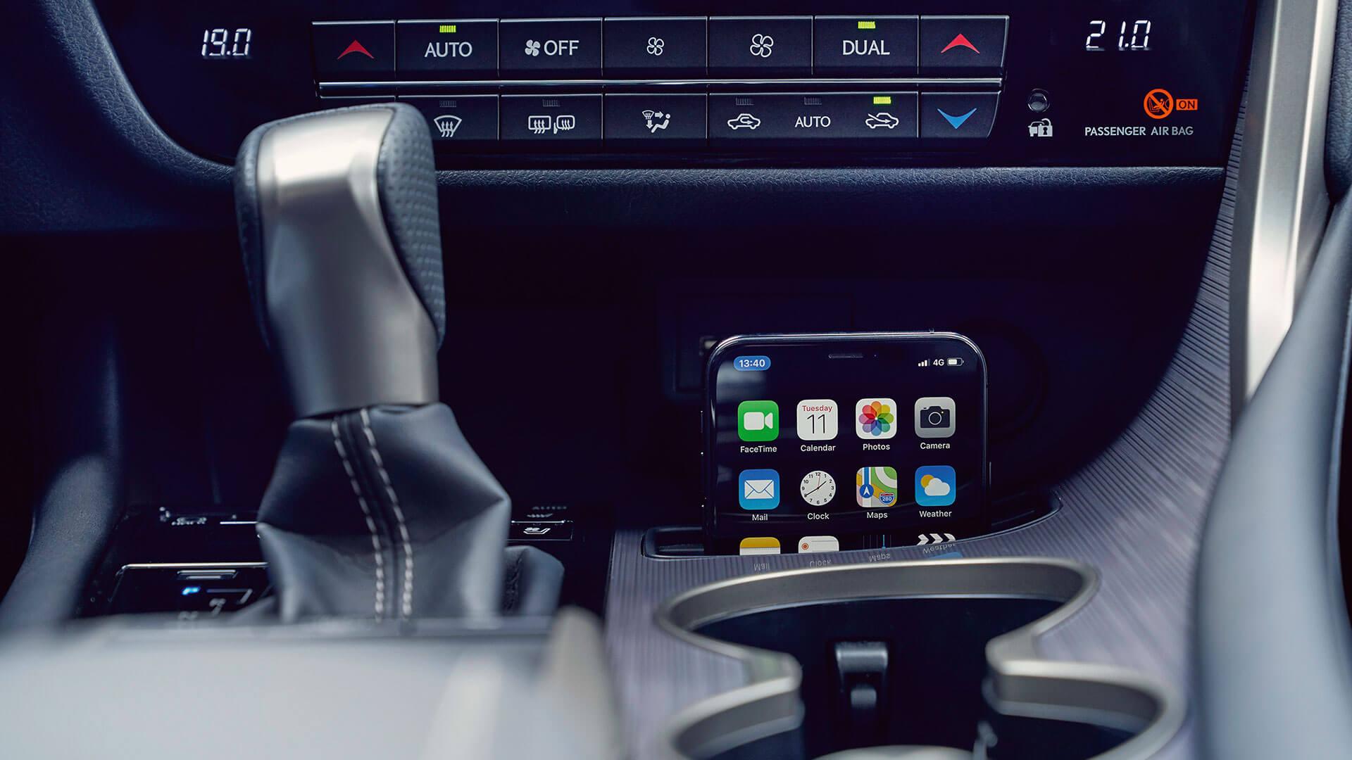 2019 lexus rx hotspot smartphone integration