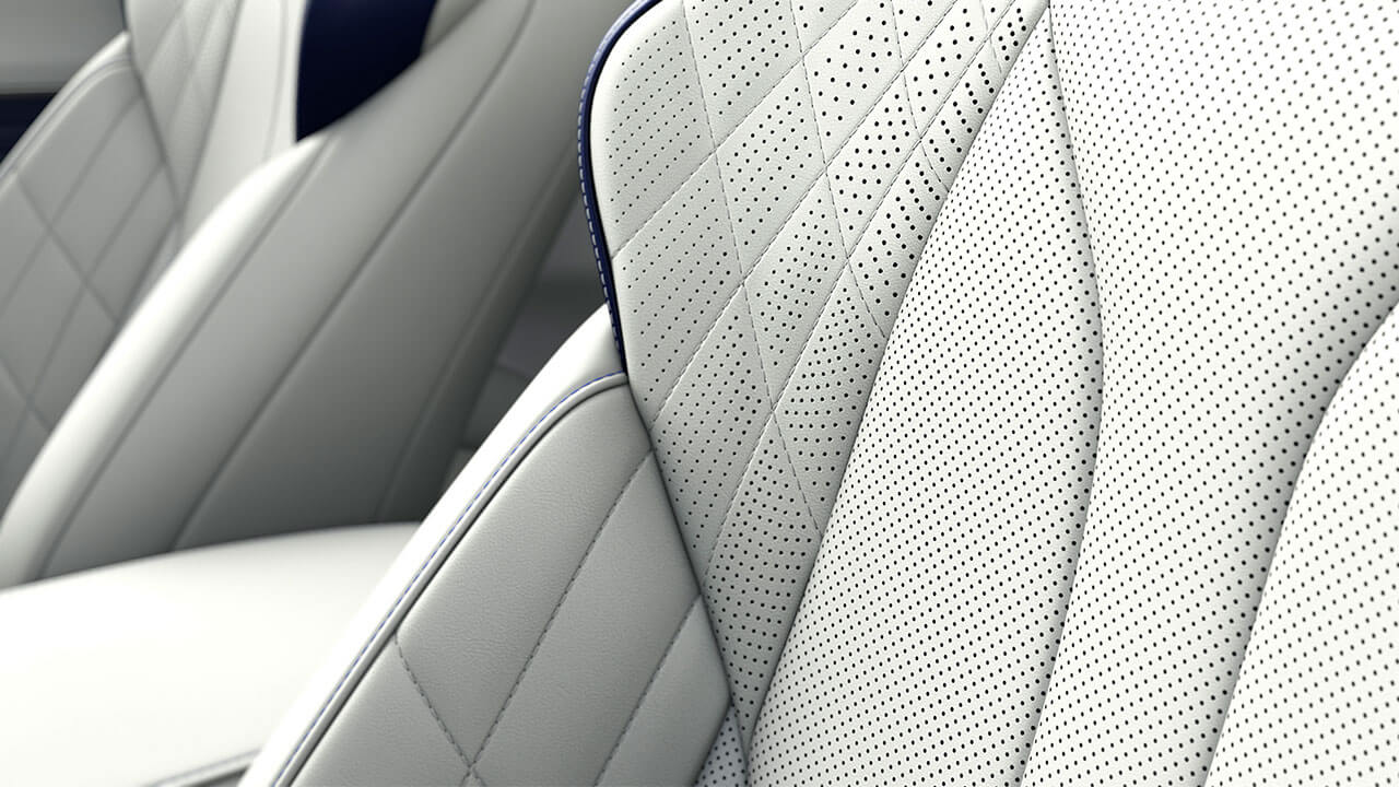 2020 leather seats