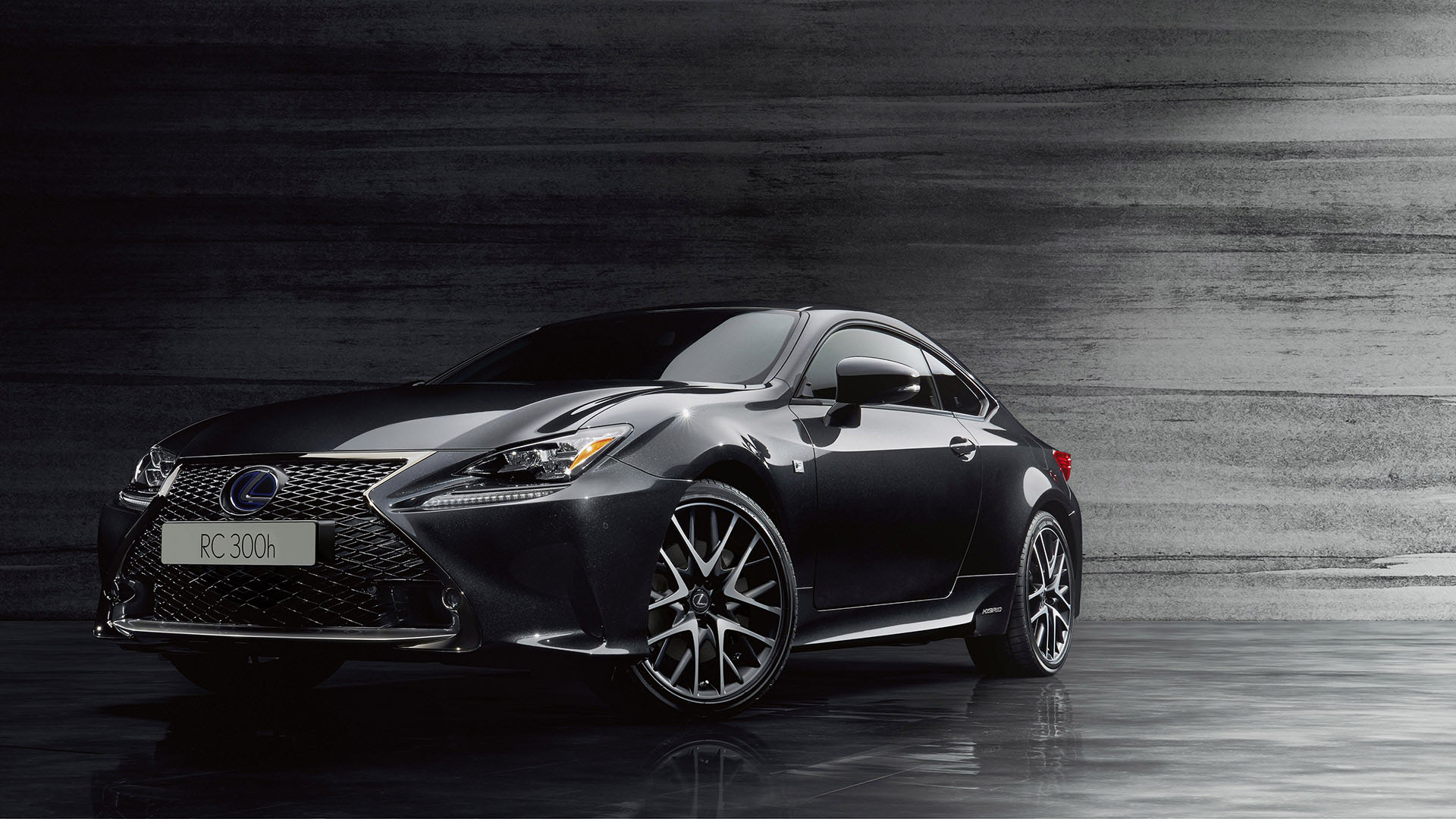 2018 RC F Sport Black Edition promo