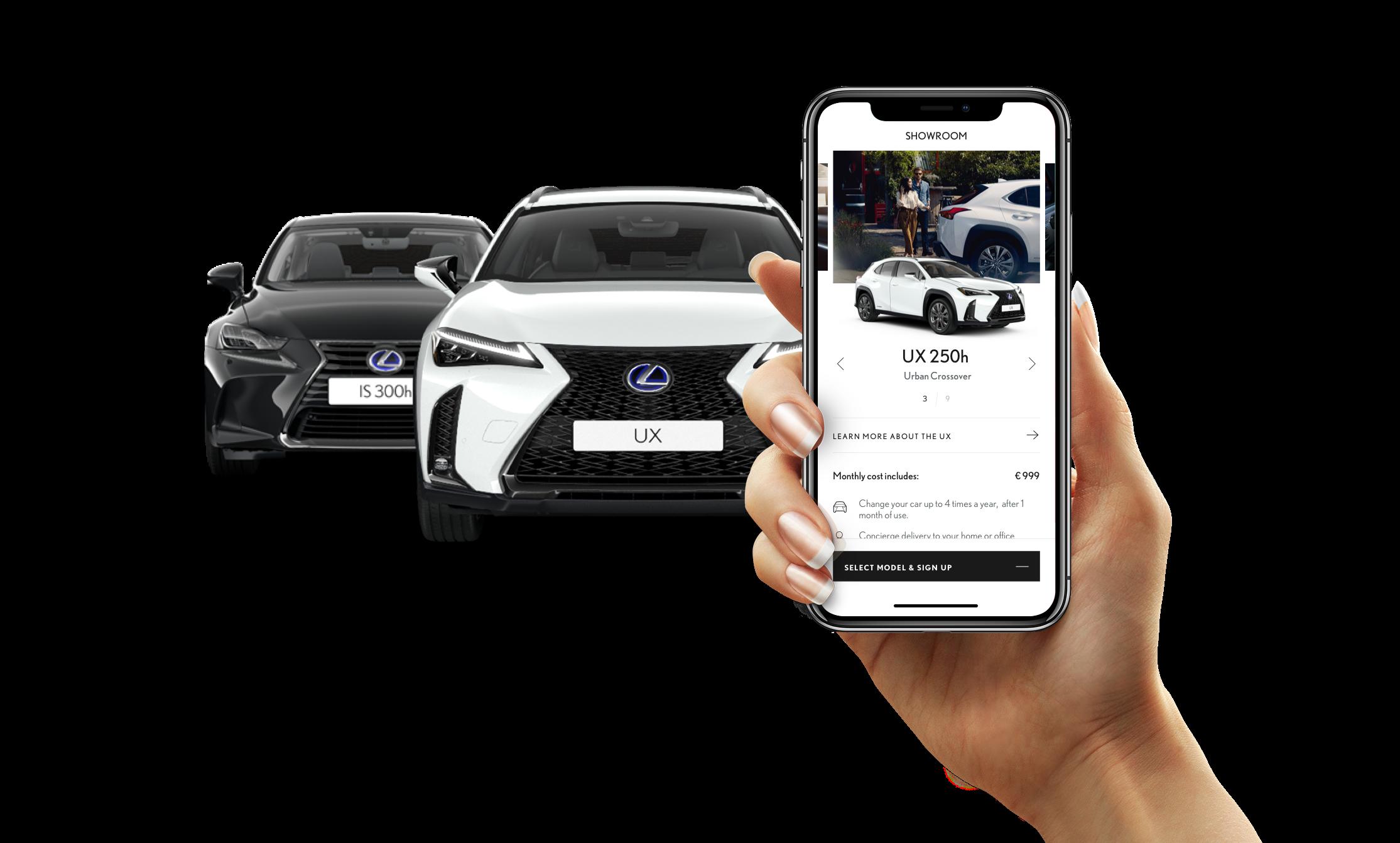 Lexus ONE app