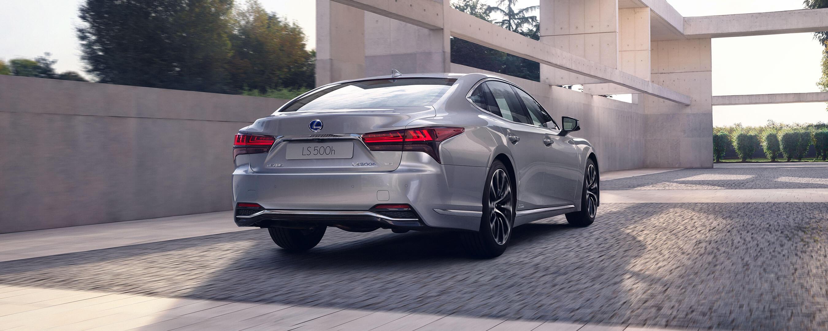 2021 lexus ls experience exterior rear