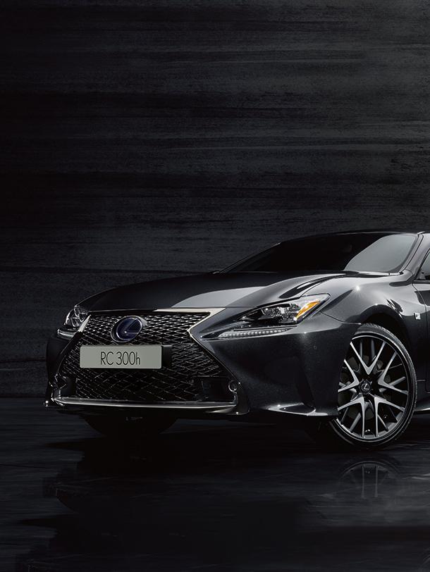 Nieuw Lexus RC F Sport Black Edition