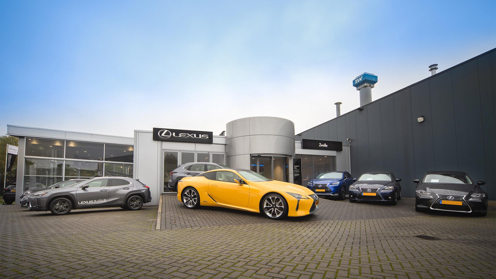 Afbeelding van het pand van Lexus Zwolle