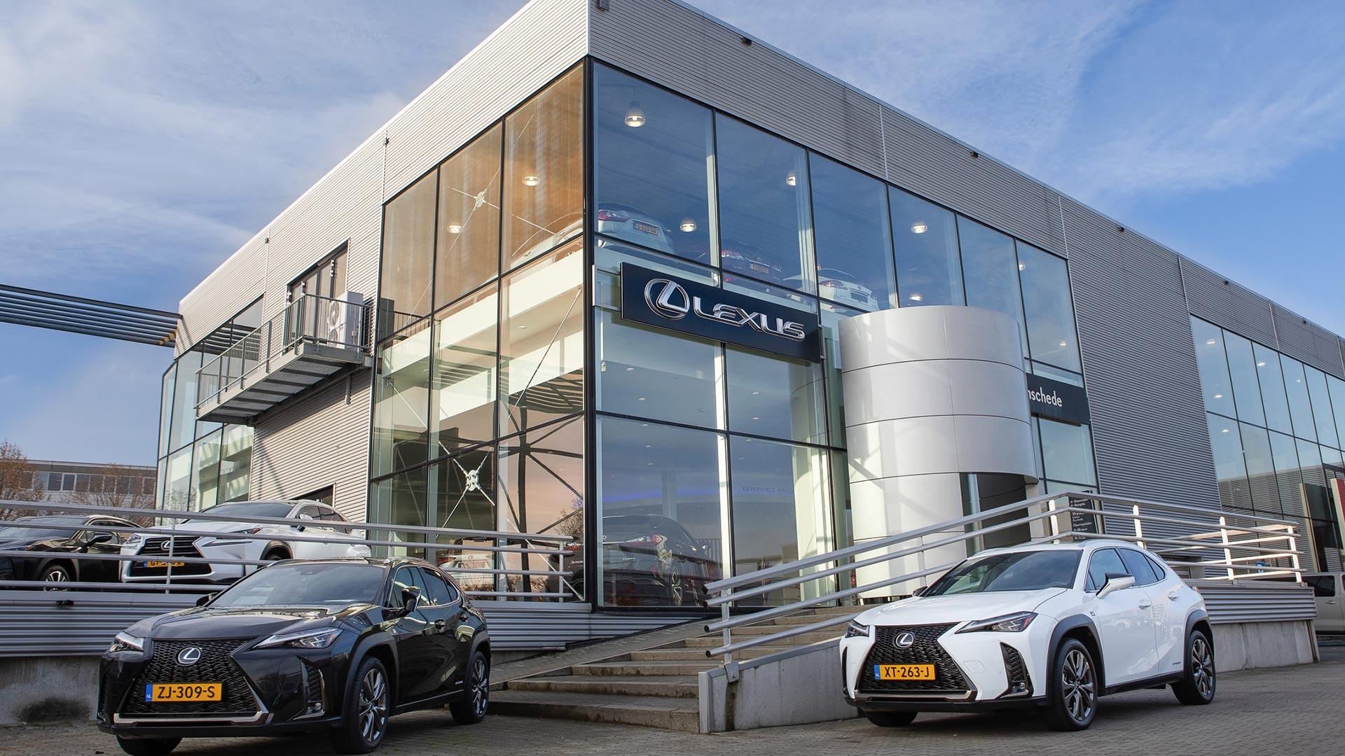Afbeelding van het pand van Lexus Enschede