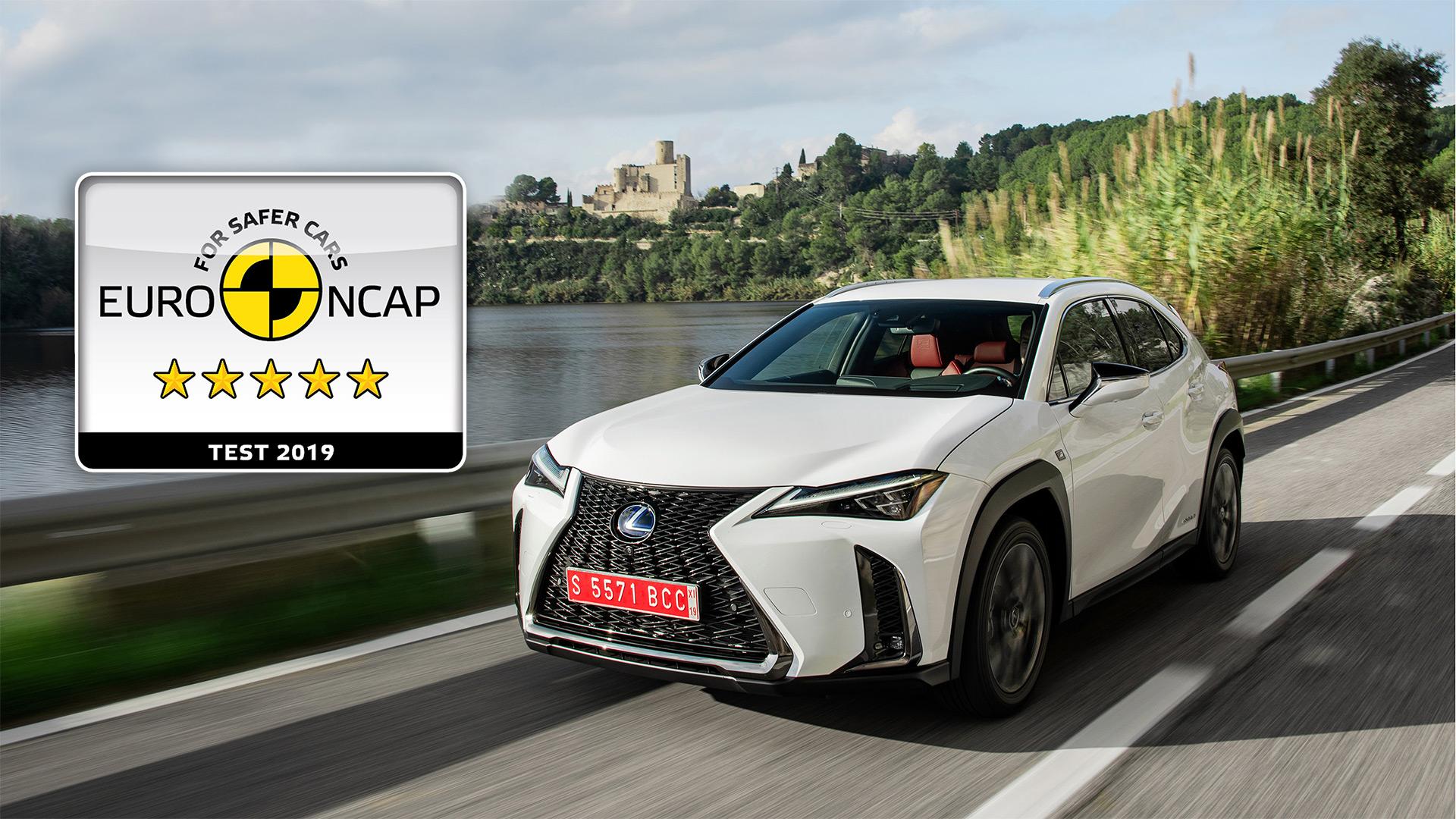 2019 008 Lexus UX 250h succesvol bij Euro NCAP