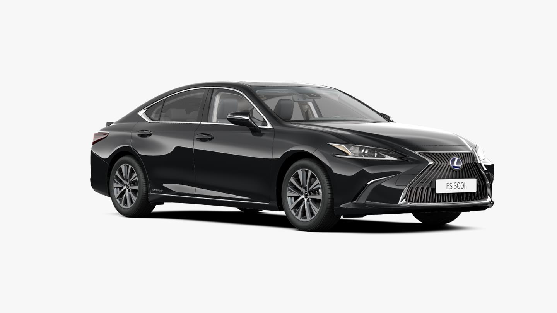 Vooraanzicht grijze Lexus ES 300h Business Line