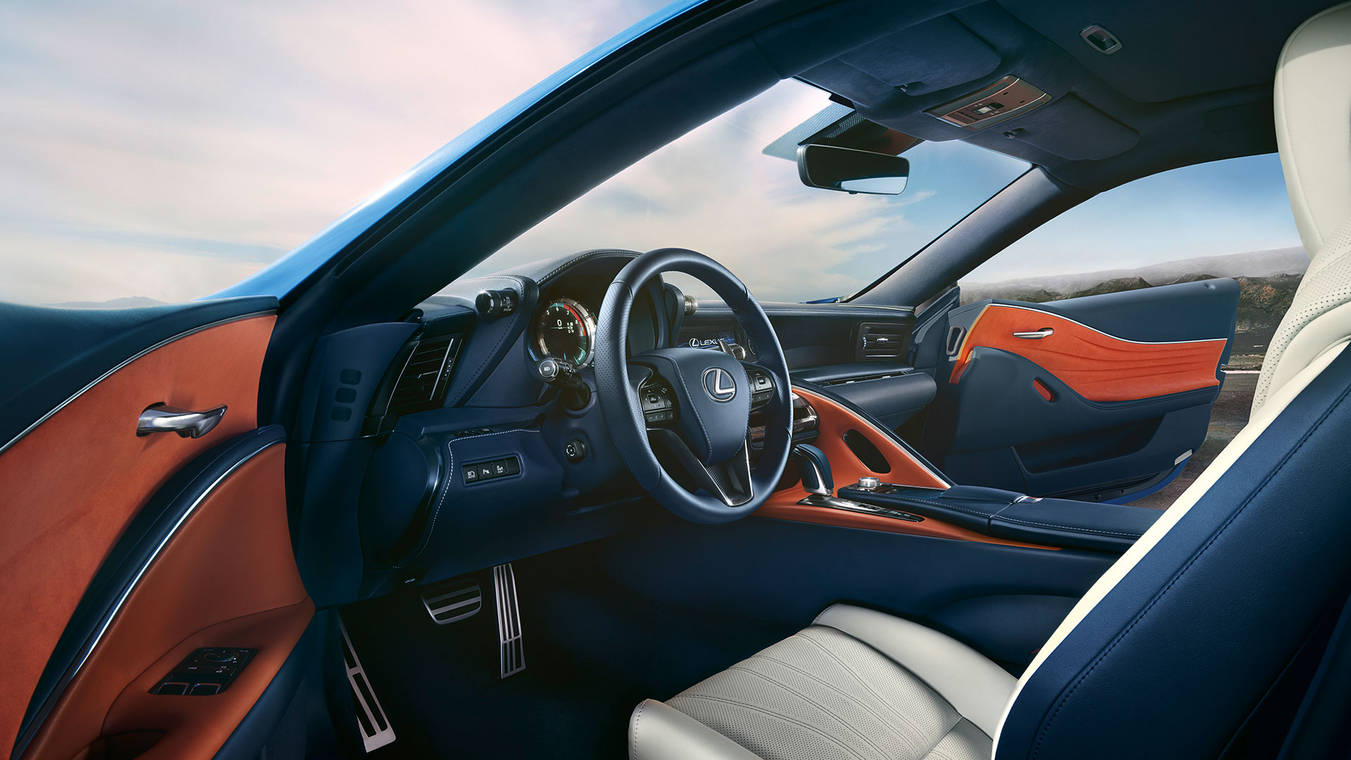2018 lexus lc blue gallery 013 interior