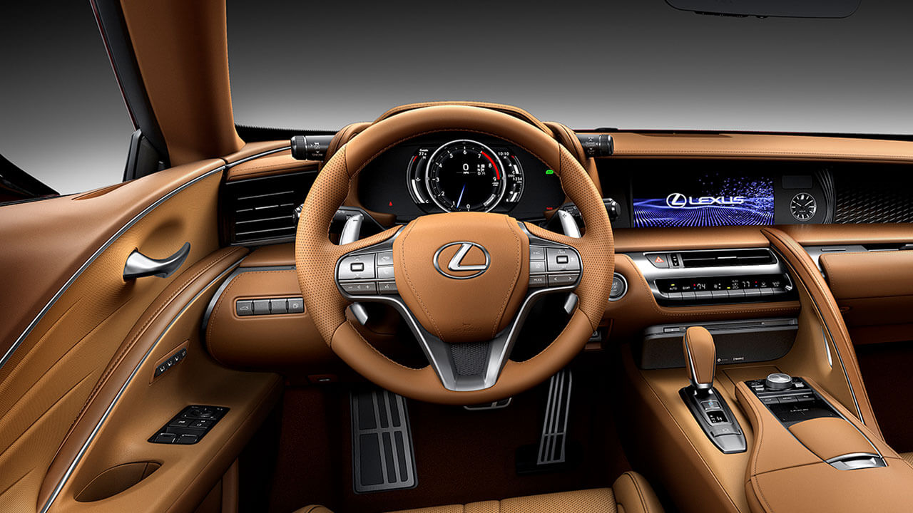 2020 driver focused cockpit