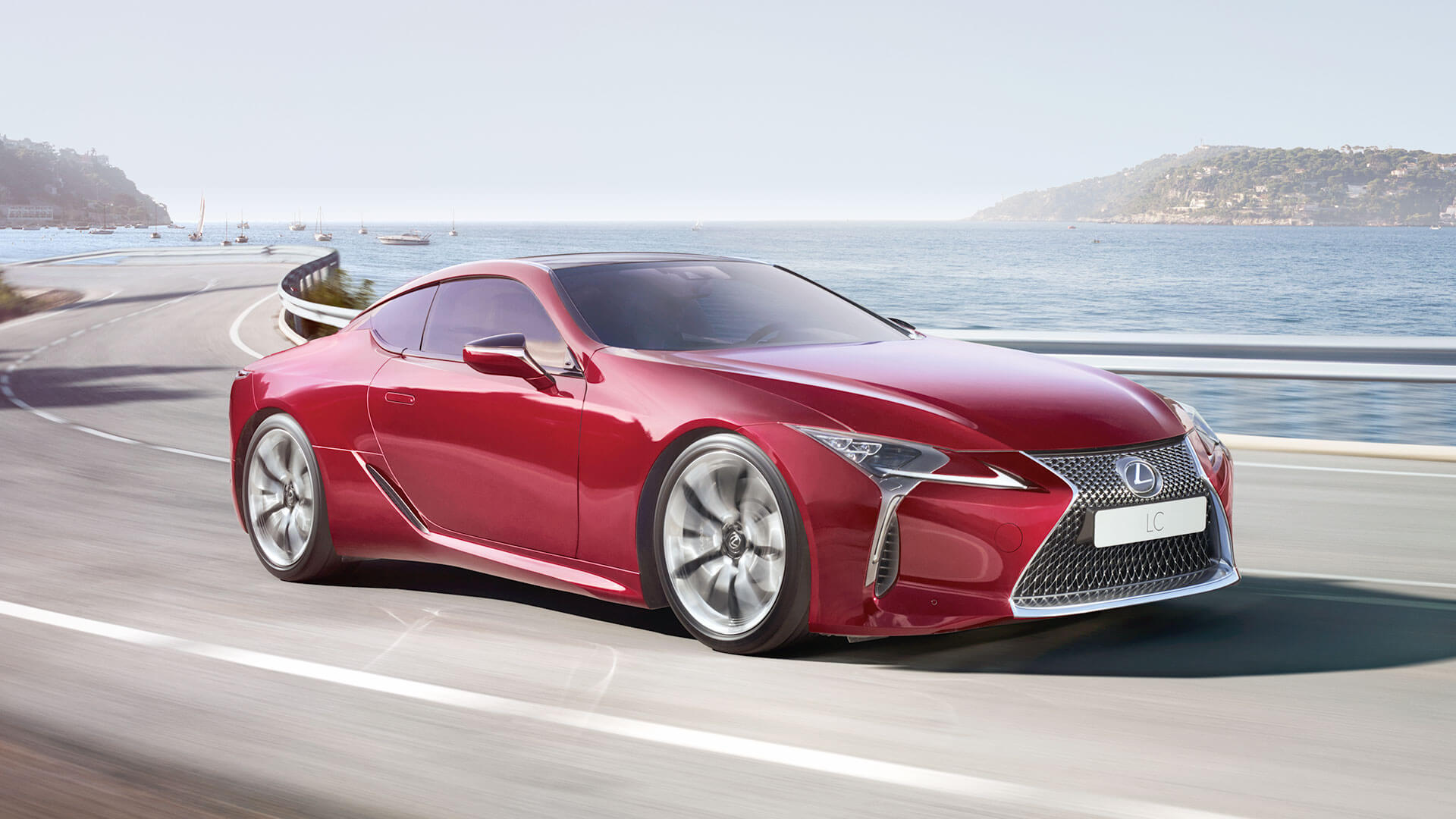 2017 lexus lc features four wheel active steering
