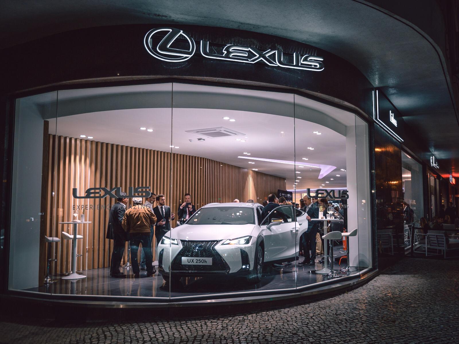 Lexus abre portas no coracao de Lisboa
