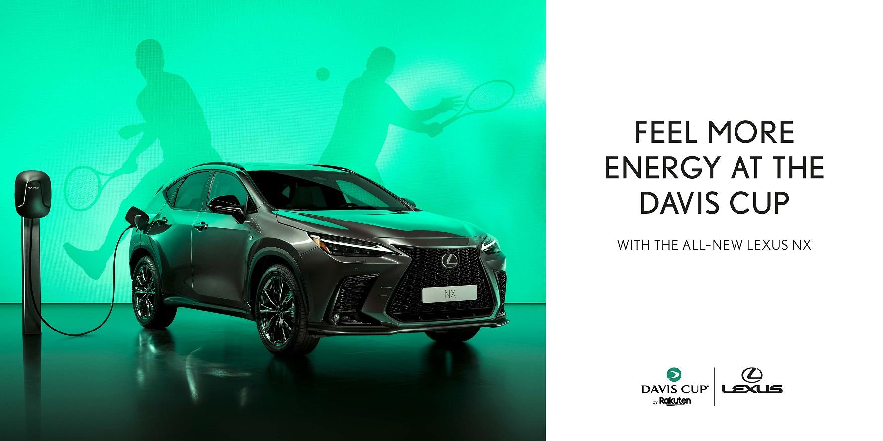 Lexus anunciada como viatura oficial das finais da taca Davis by Rakuten 2021 Image