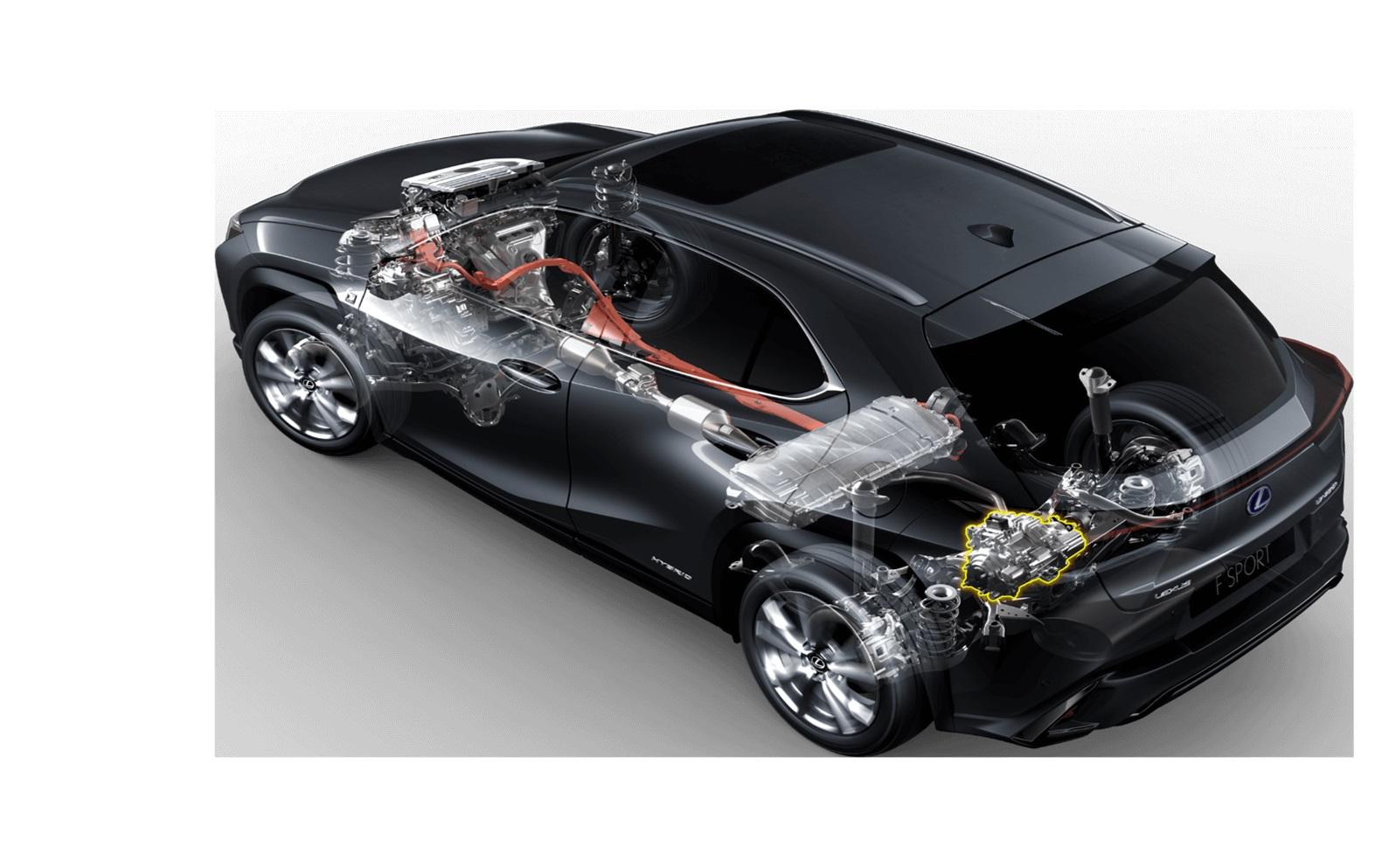 Criatividade maxima na criacao e eletrificacao do Lexus UX 250