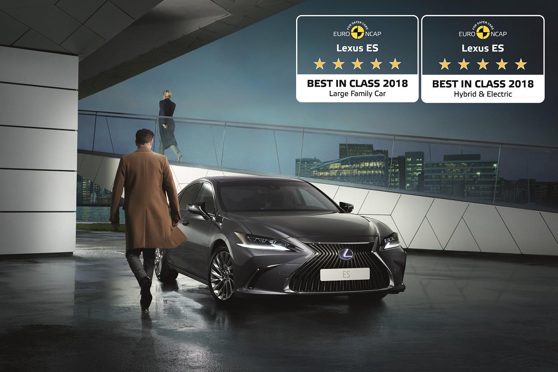 Novo Lexus ES mais Seguro Grande Carro Familiar hibrido eletrico