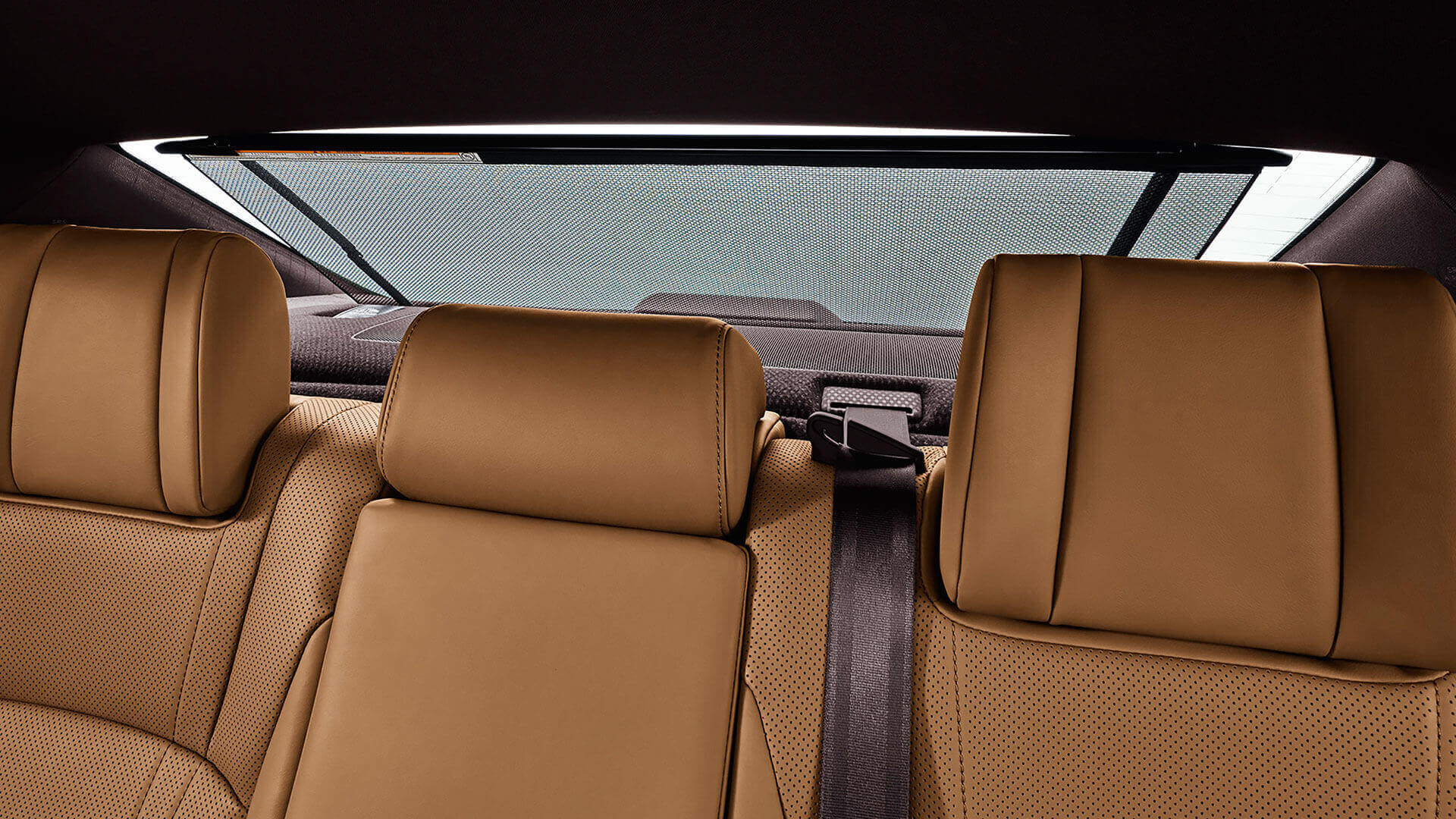 2019 lexus es hybrid experience feature rear sun shade