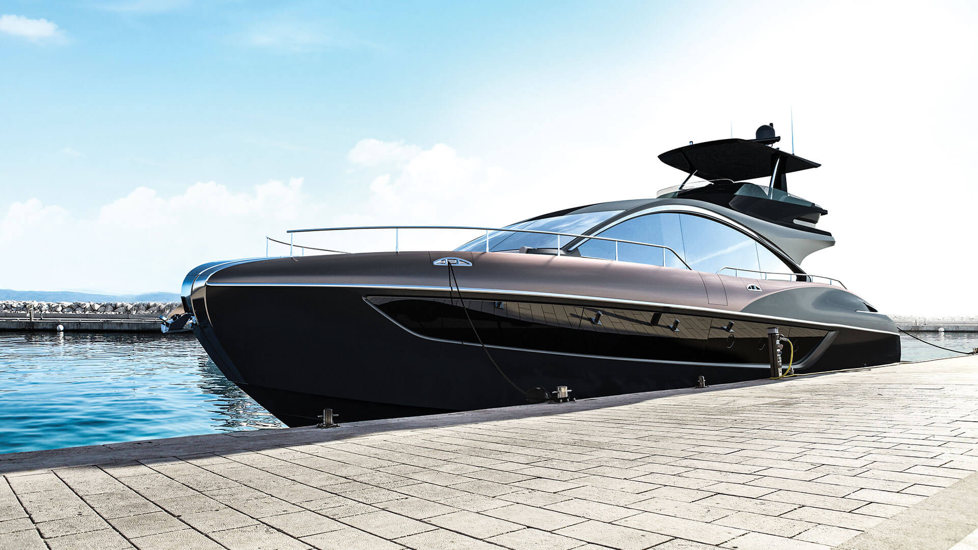 2019 lexus ly 650 luxury yacht landscape