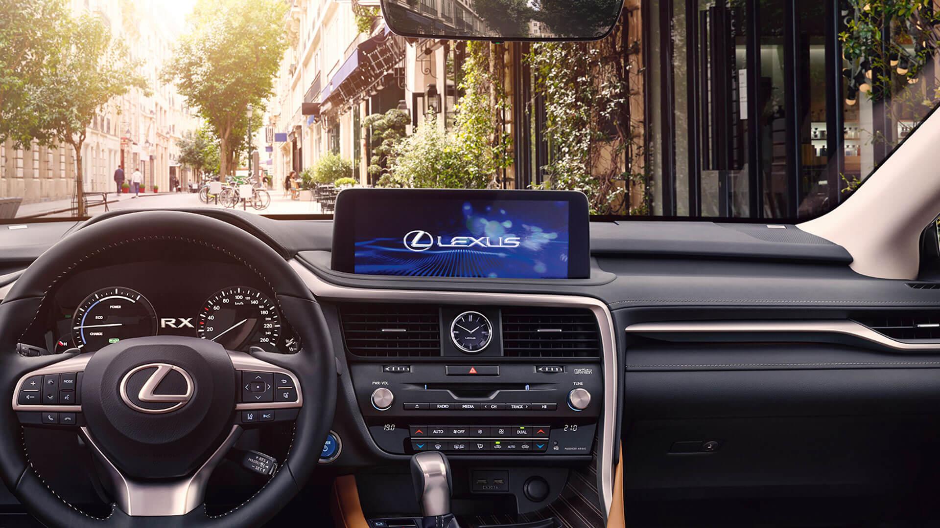2019 lexus rx hotspot interior 12 3 touchscreen