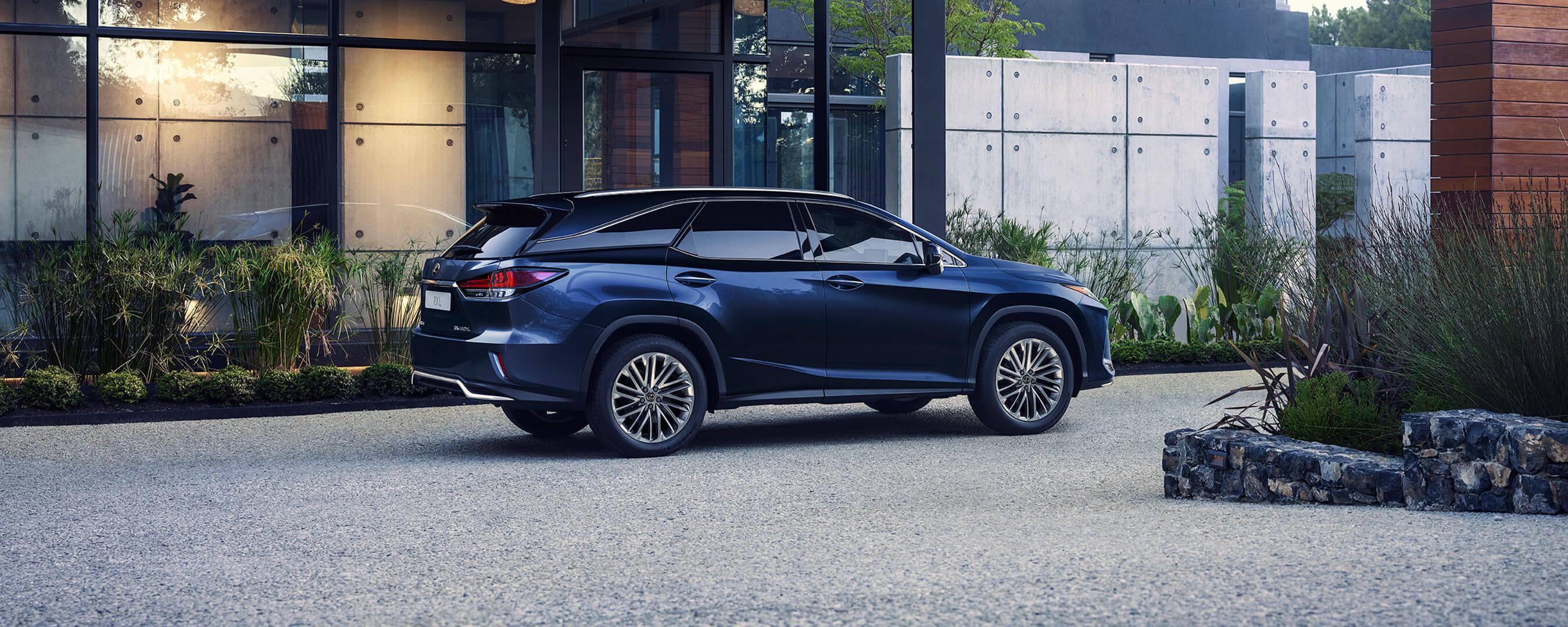 2019 lexus rxl experience rear exterior