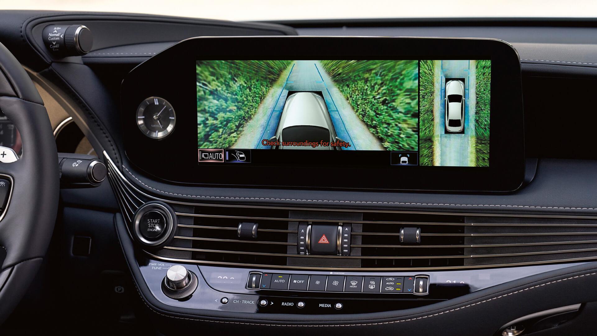 new 2020 lexus ls experience digital panoramic view monitor
