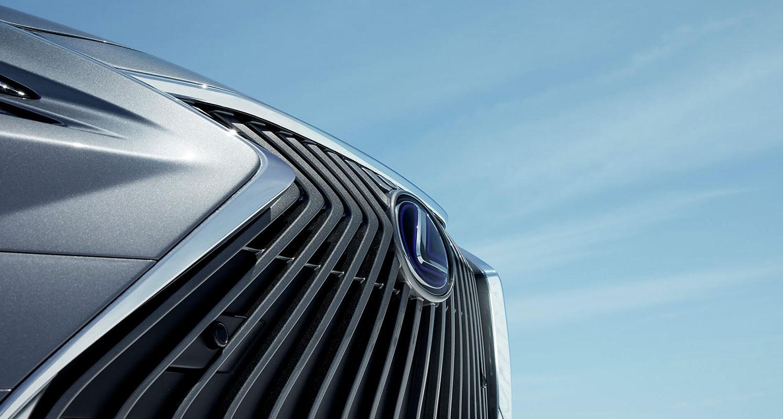 Grillen på Lexus ES