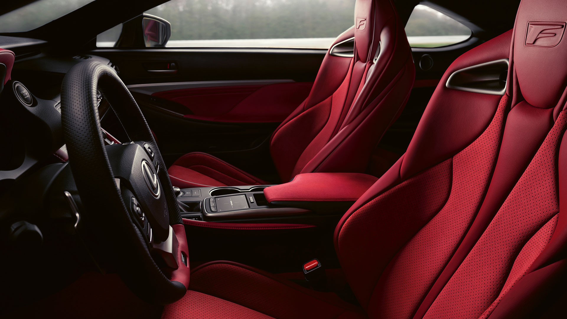 2019 lexus rc f gallery 017 interior