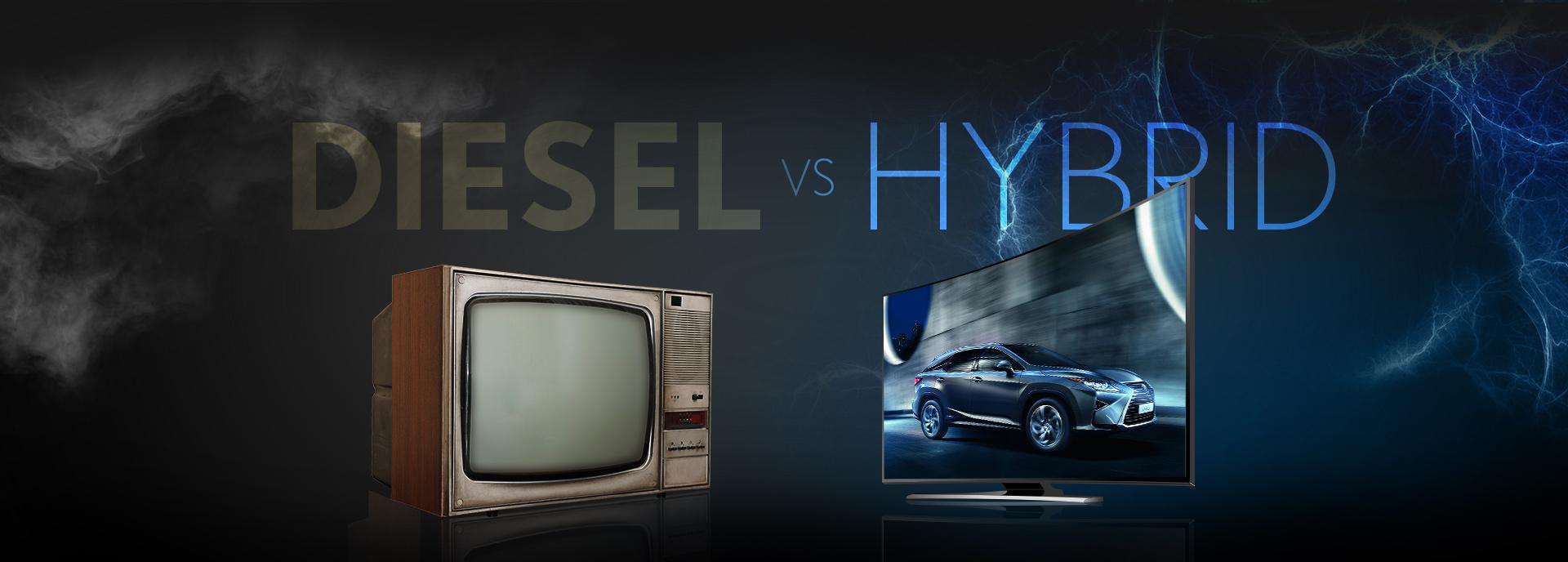 Diesel vs Hybrid Image
