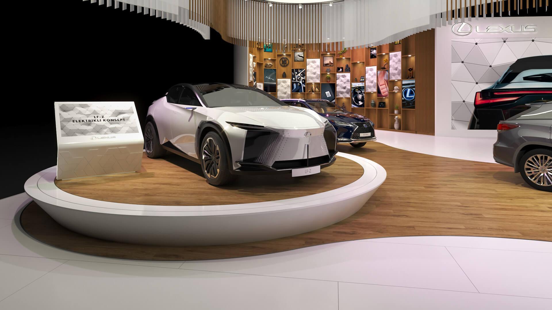 Lexus Autoshow Mobility Fuarı'na Damga Vurdu gallery04