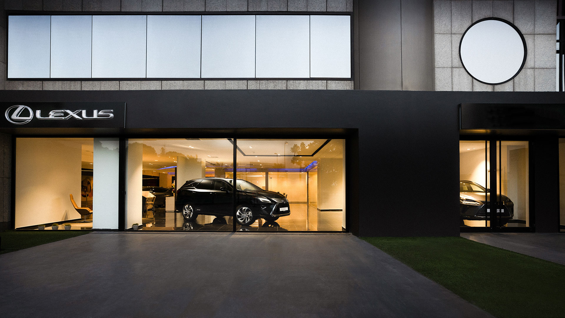 1920x1080 Lexus Showroom d1