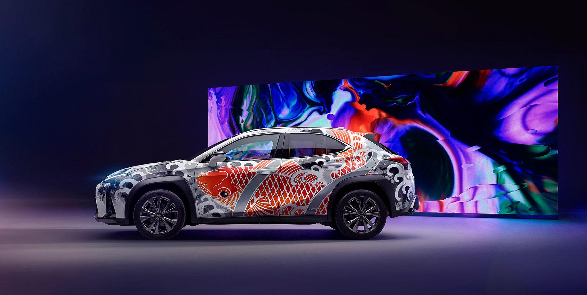 Lexus'a Dövme Sanatı Dokunuşu