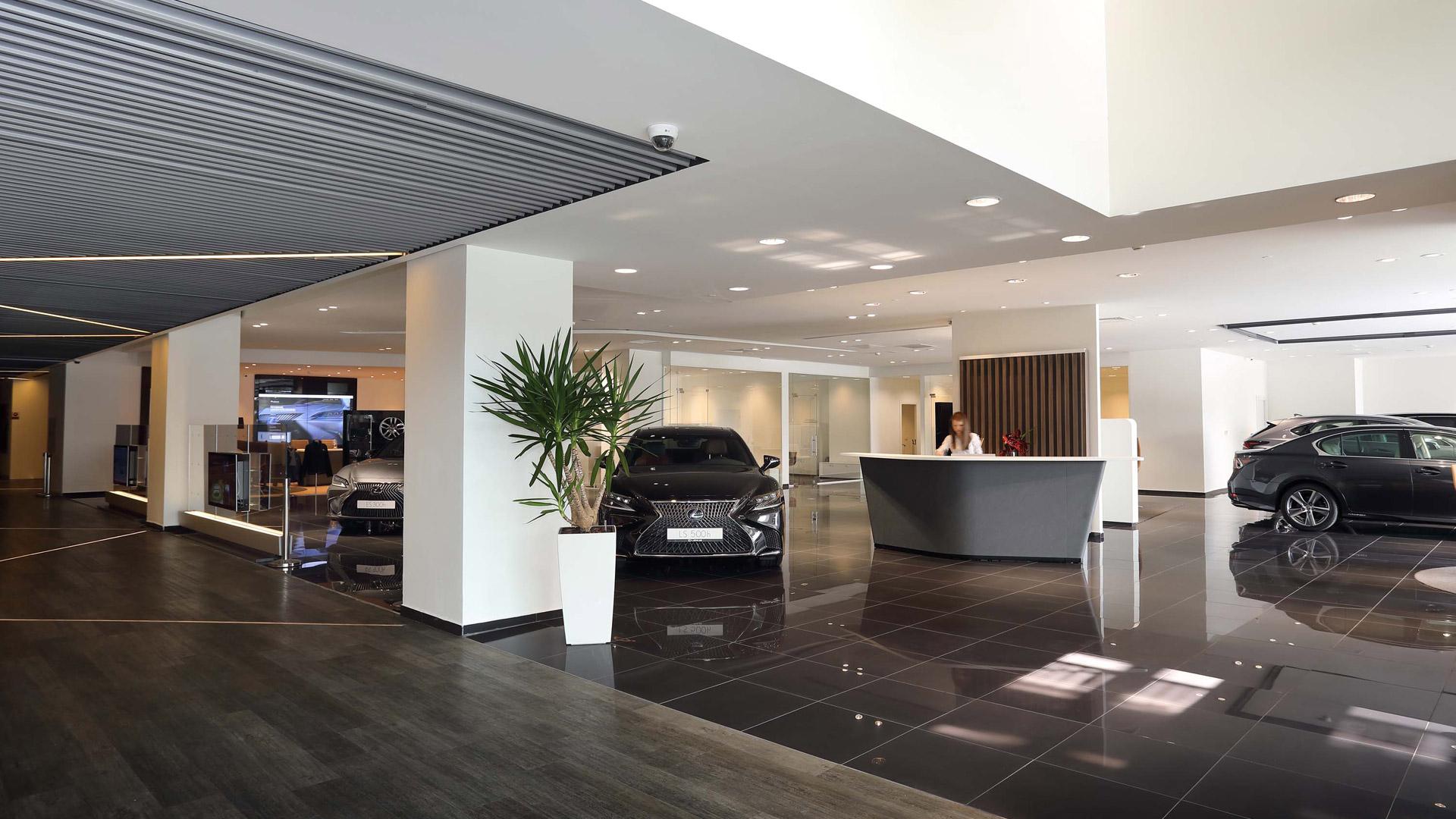 Lexus Dolmabahce Showroom
