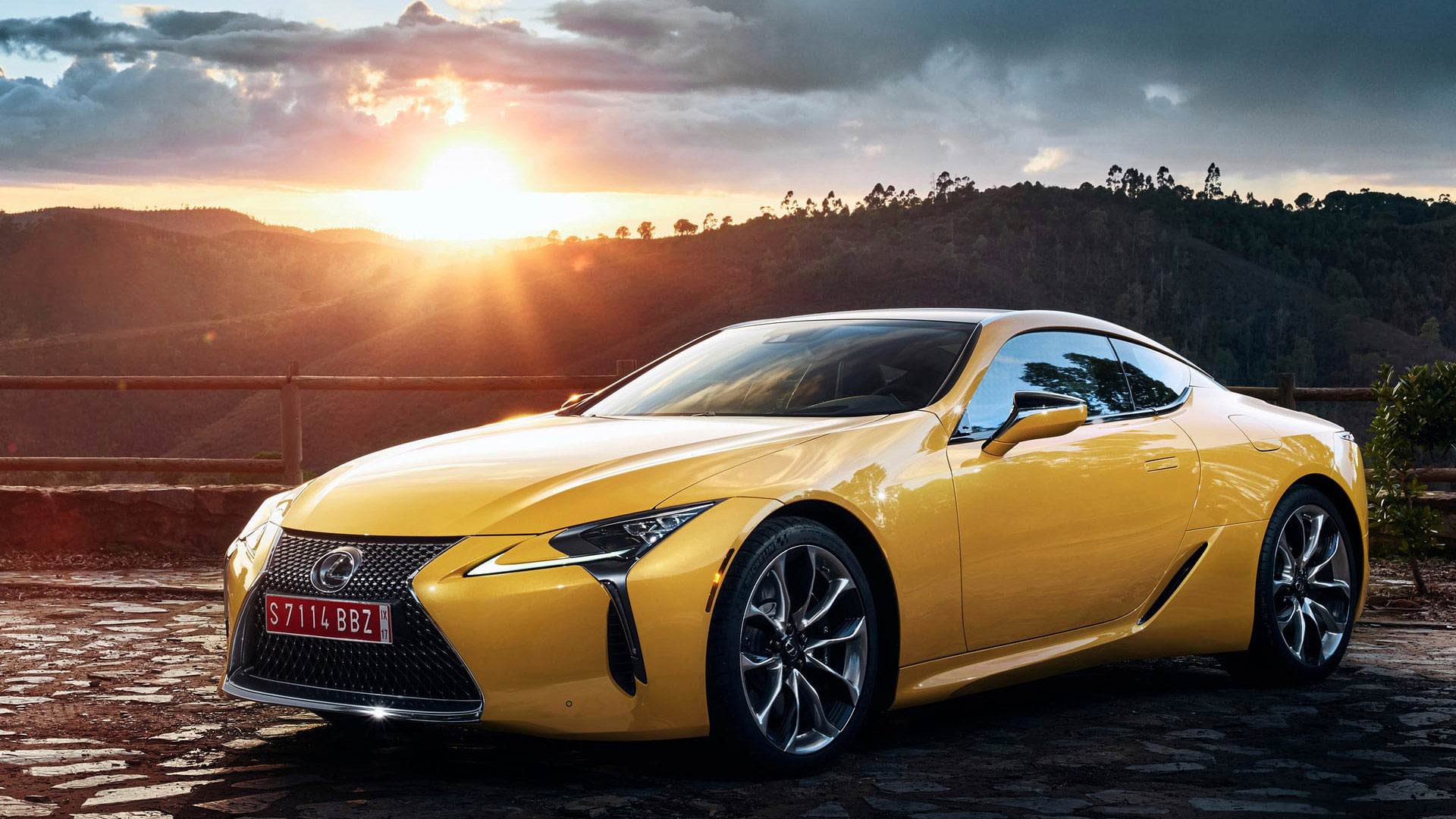 Lexus LC Yellow Edition 1920x1080 v2