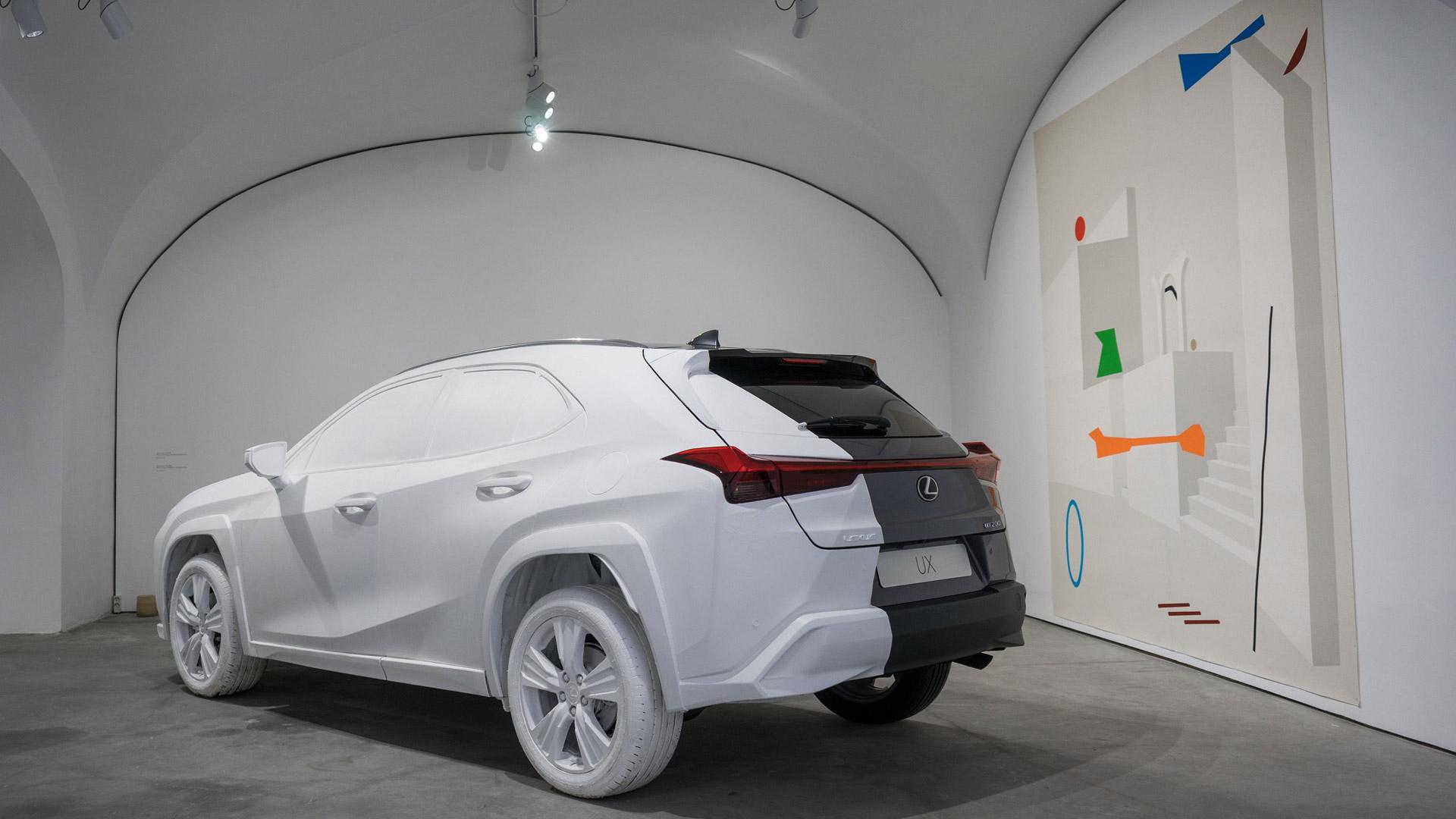 Lexus UX Art Space gallery02