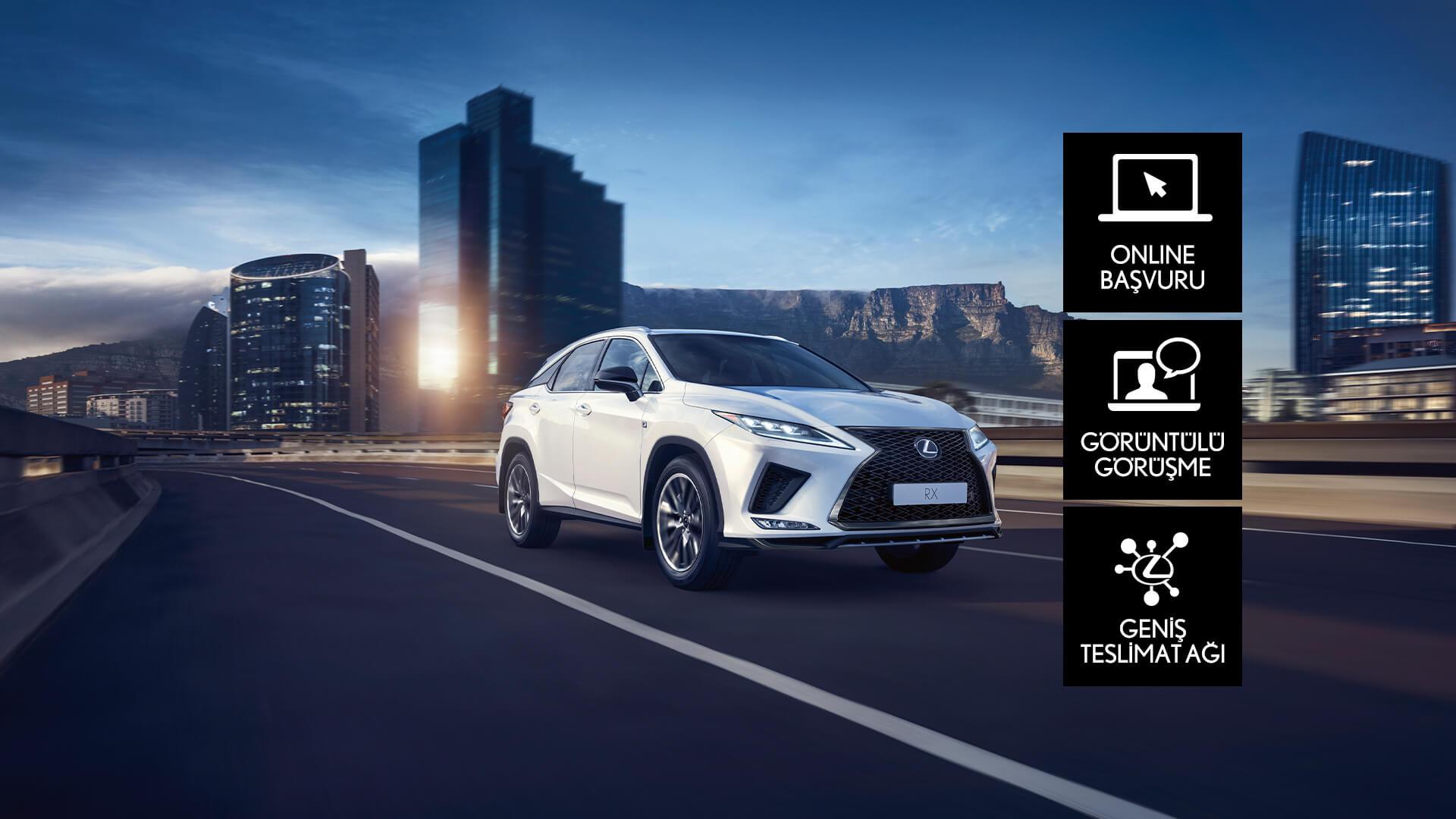 Lexus Uzaktan Satış Kampanyası