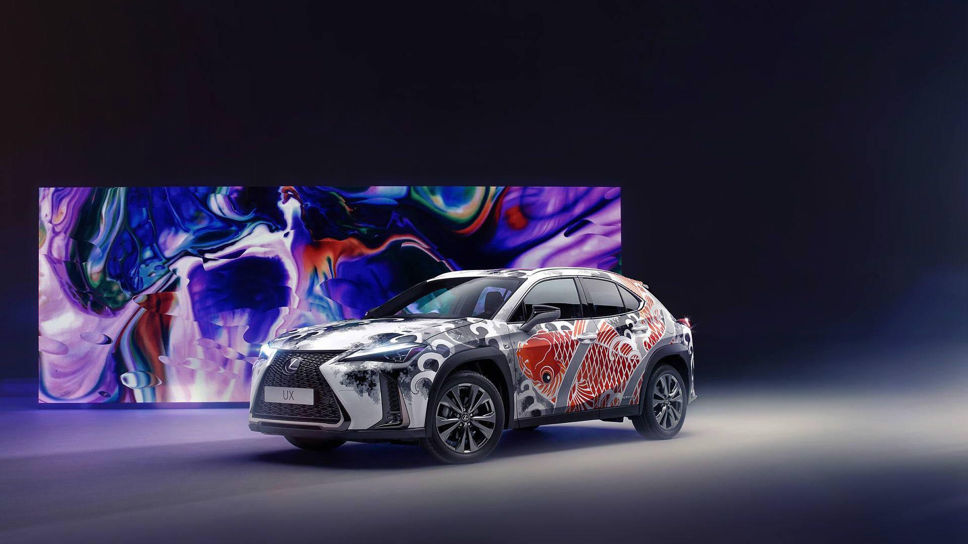 Lexus представляє винятковий «татуйований» автомобіль