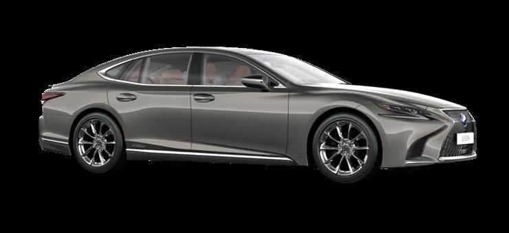 Новий Lexus LS 500h